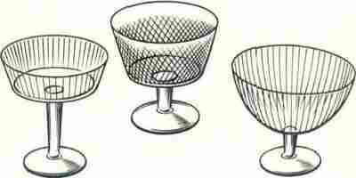 Рис. 1. Виды стеклянных креманок