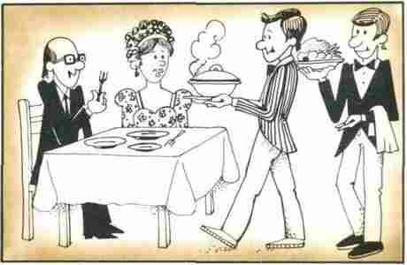 ЗА СТОЛОМ Правила этикета Как едят различные блюда Как
