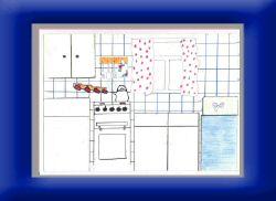 Кухня глазами учащейся 5-го класса.