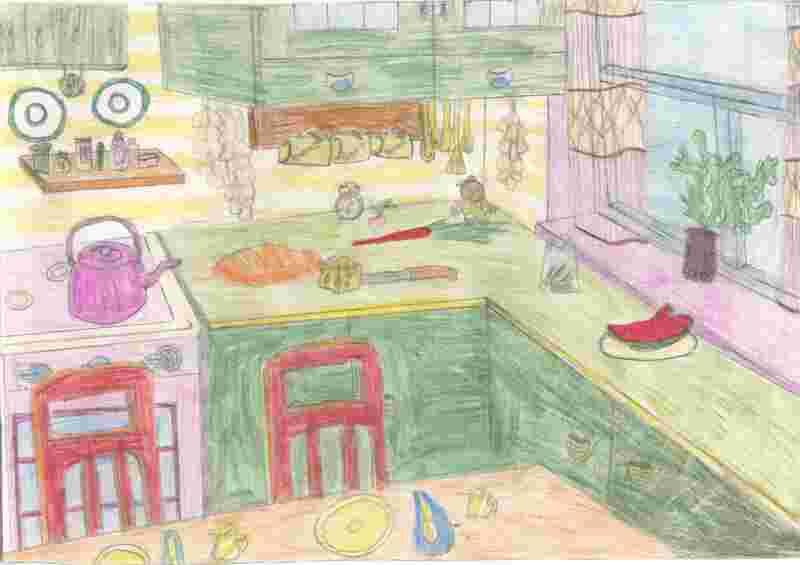 Кухня глазами Штырхуновой Анны (5 класс)