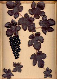 """Панно """"Ветвь винограда""""."""
